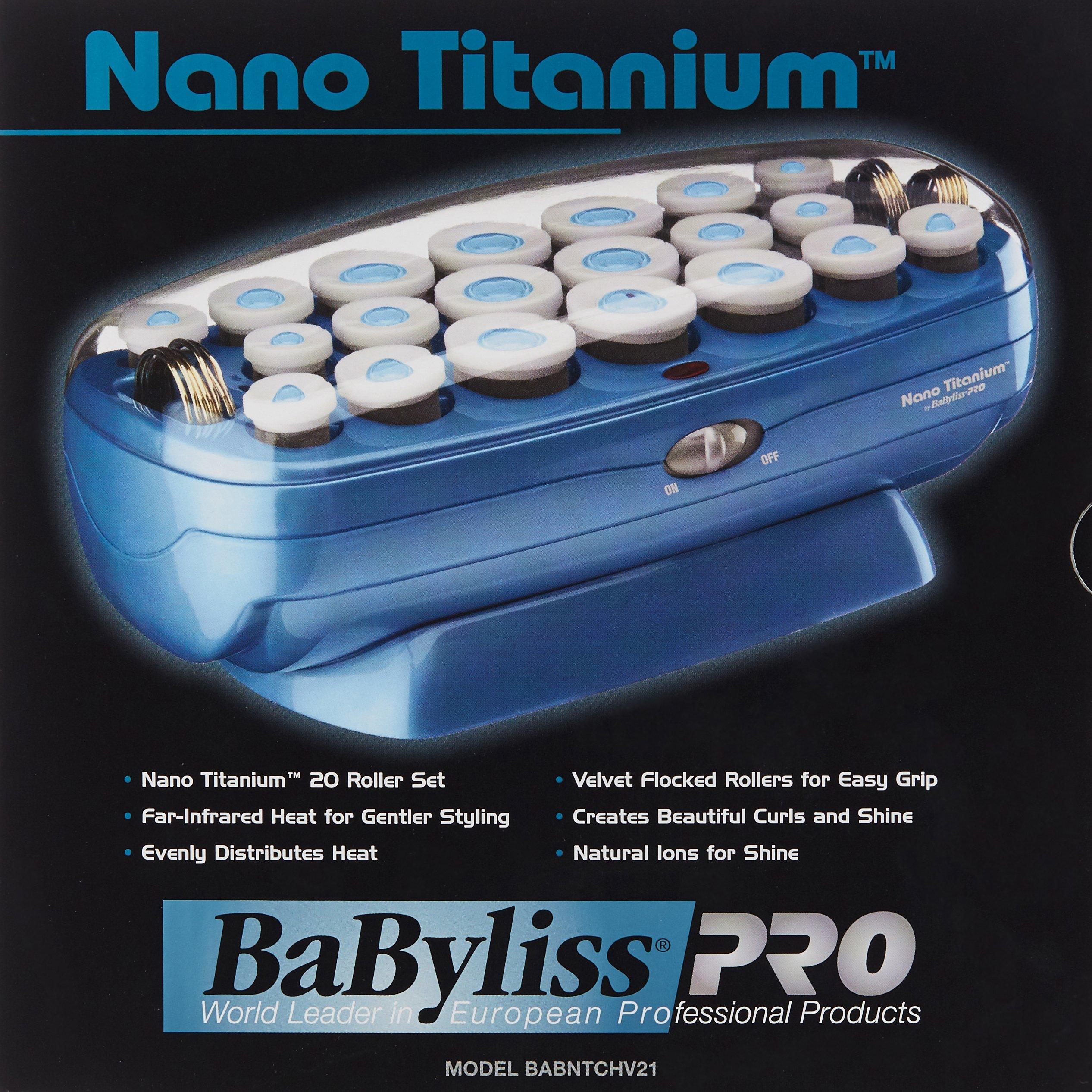 BaBylissPRO Nano Titanium 20-Roller Hairsetter by BaBylissPRO (Image #9)