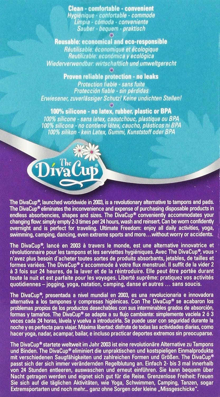 amazon com diva cup model 2 2 count health u0026 personal care