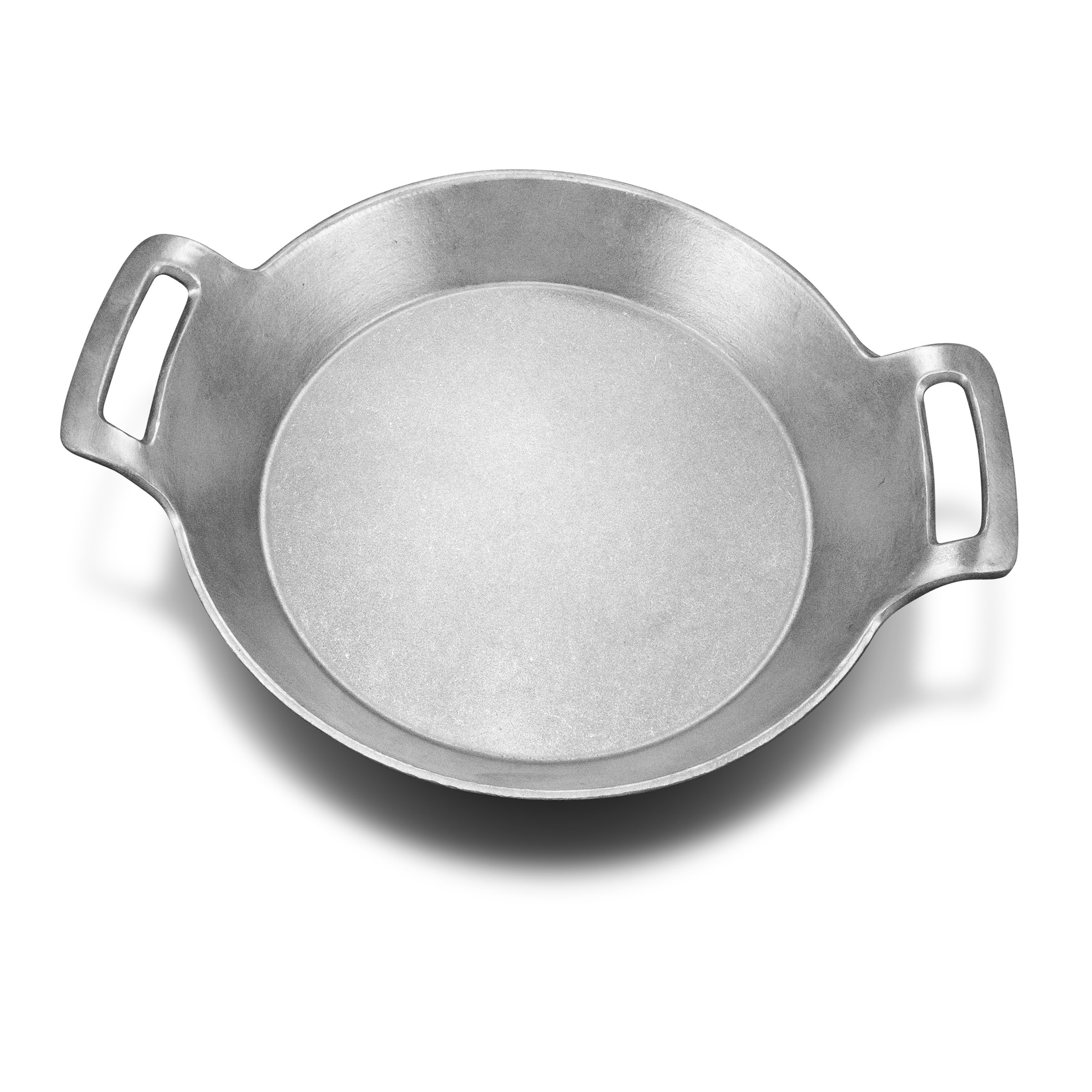 Wilton Armetale Gourmet Grillware Large Paella Cooking and Serving Pan, 16.5-Inch
