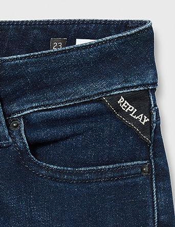 Replay New Luz jeansy damskie (New Luz), kolor: Niebieski (Dark Blue 007) , rozmiar: 27: Odzież