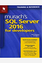 Murach's SQL Server 2016 for Developers Paperback