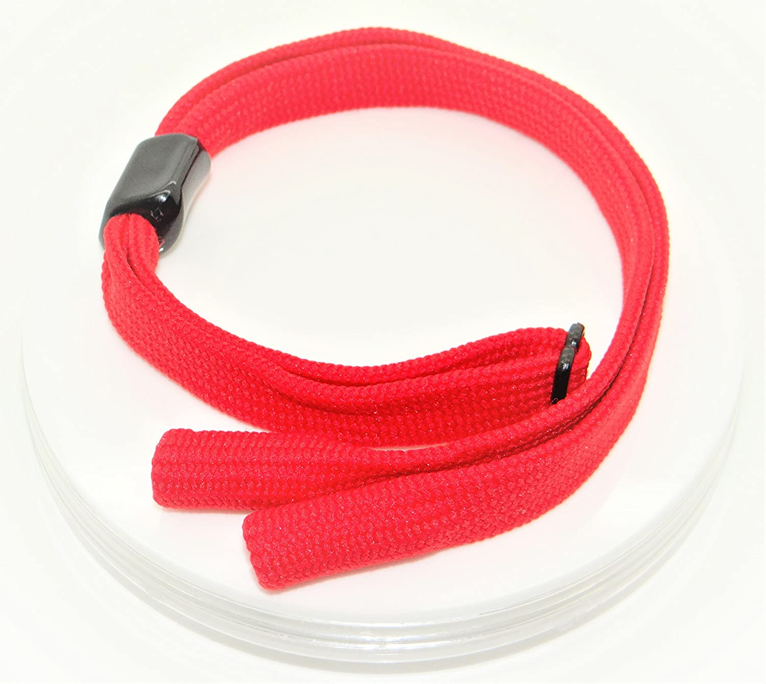 Glasses Retainer Cord Neckless Strap Sportive Adjustable Pipe Ends Design *4 Colours* - SG-UK Asia 60cm Sports Printed Design