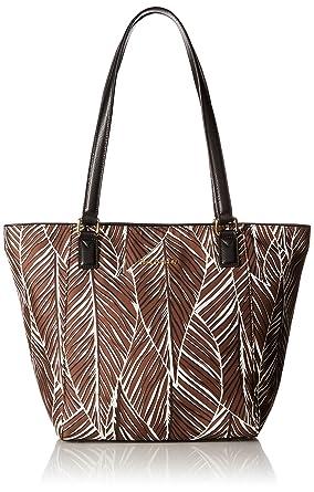 2b8dcbdd53f0 Amazon.com  Vera Bradley Small Ella Tote Bag  Clothing
