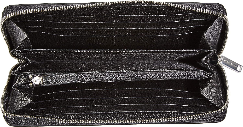 2x11x21 cm Portefeuilles homme BOSS Signature/_s Zip Trav Noir Schwarz B x H T