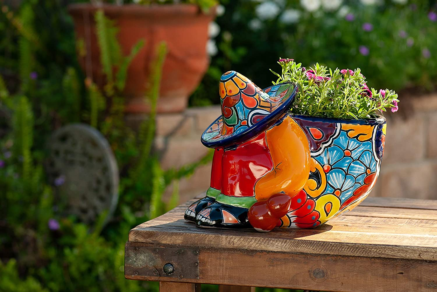 Enchanted Talavera Mexican Pottery