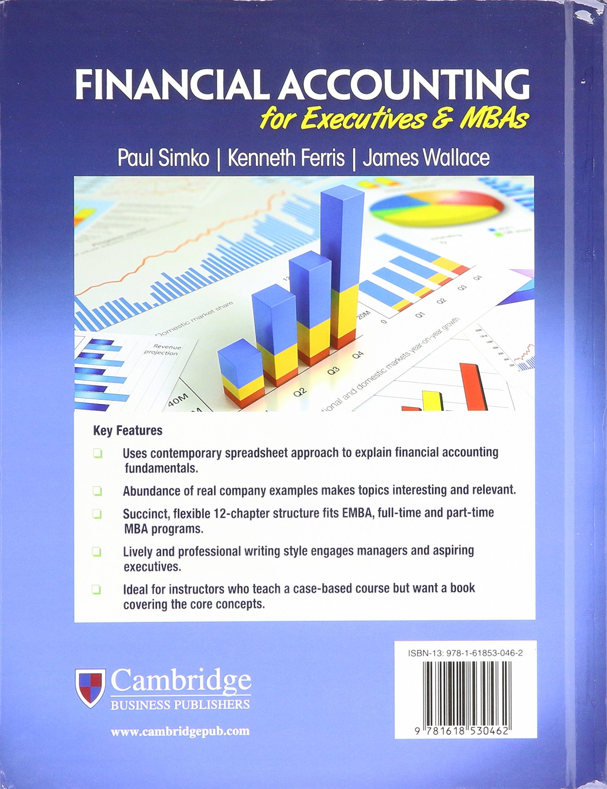 Financial Accounting for Executives and MBAs: Paul J. Simko: 9781618530462:  Amazon.com: Books