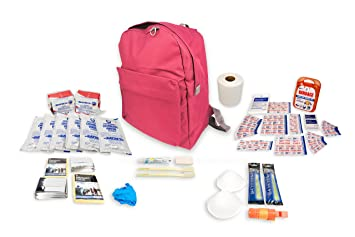 crisis essentials emergency survival bag 2 person kit 72 hour with first aid supplies for family - First Aid Supplies