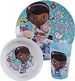 Designs Mealtime Set - Doc McStuffins - 3 ct  sc 1 st  Amazon.com & Amazon.com   Disney Doc McStuffins Dinnerware Set 3-Piece: Coffee ...