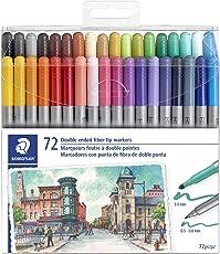 Staedtler - marcador lavable, 320TB72 LU, Multi Color
