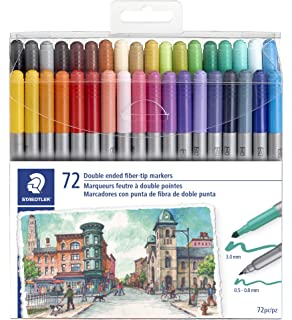 Amazon.com: Staedtler Color Pen Set, Set of 36 Assorted ...
