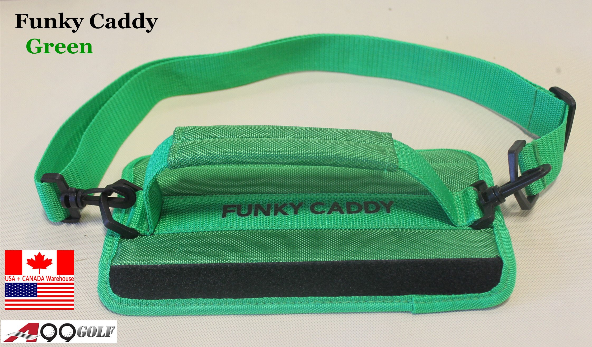 C12 A99 Golf Funky Caddy Golf Bag Driving Range Carrier Sleeve Light with velcro by A99 Golf (Image #2)