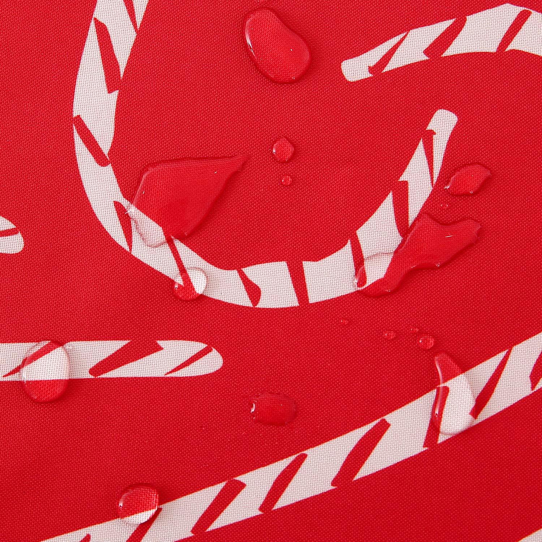 Deconovo Mantel Mesa Rectangular Mantel de Navidad Decoración Dibujo Bastón 130 x 220 cm Rojo: Amazon.es: Juguetes y juegos