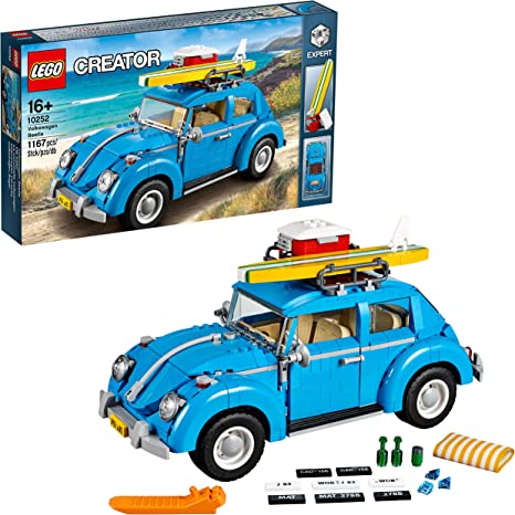 LEGO 10252 Volkswagen Beetle Building & Construction Toys at amazon