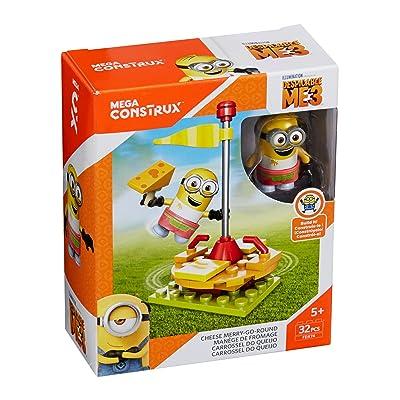 Mega Construx Despicable Me Cheese Merry Go Round Building Set: Toys & Games