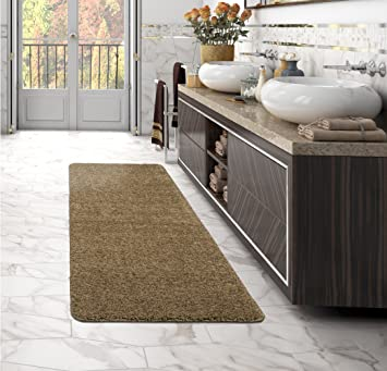 Deluxe Solid Hallway Carpet Runner Area Rug Indoor Plush Home Quality Decor