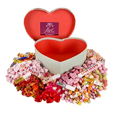 Retro Sweets Heart Shaped Gift Box A Fantastic Valentine S Day