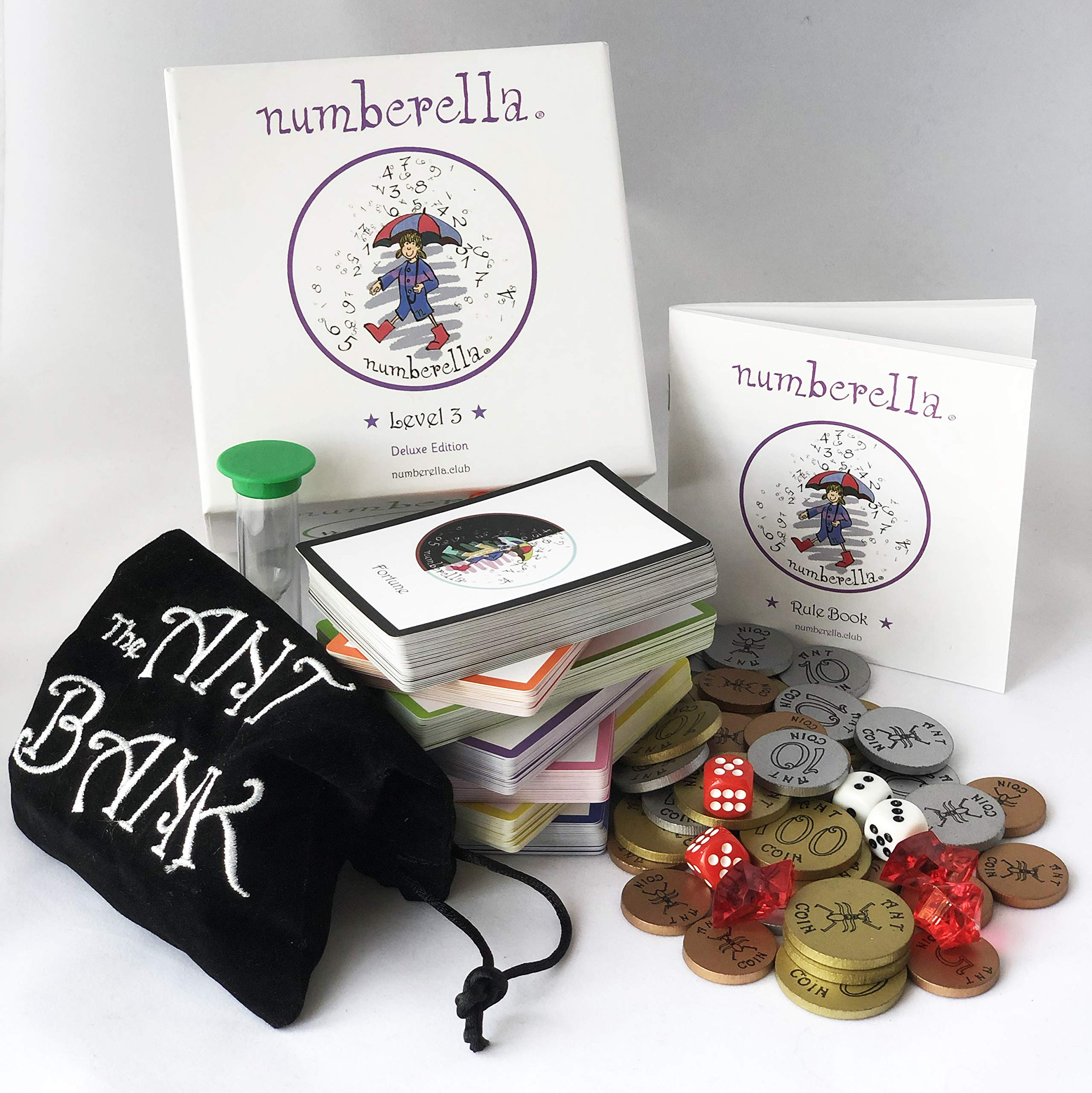 Numberella Deluxe Edition Level 3 - Making Math Fun at 300 Calculations Per Hour. Nominated for ISTE STEM Excellence Award 2019. Loved by Teachers and Students Across The U.S. Grades 8+ by Numberella