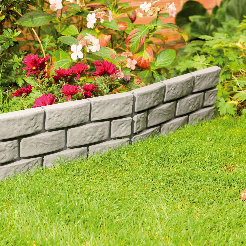 Separador Parkland® Instant efecto ladrillo para jardín: Amazon.es ...