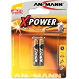 ANSMANN 1,5V Alkaline AAAA Batterie (speciale dimensione AAAA/LR61) Batterie per Stylus Surface Pro/Dell Venue Pro Tablet/collari luminosi per cane - AAAA