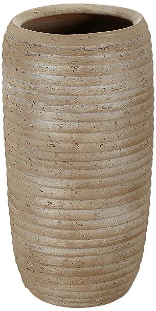 Mica Decorations 143429 Vase Lloyd 28 X 28 X 55 Cm Brown Amazon