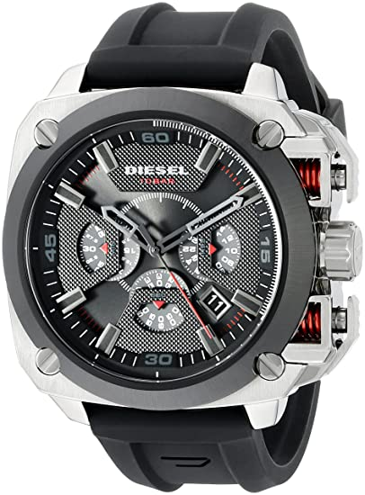 5ffb4e263dc1 Diesel DZ7356 Classic Analog Watch with Chronograph Dial for Men ...
