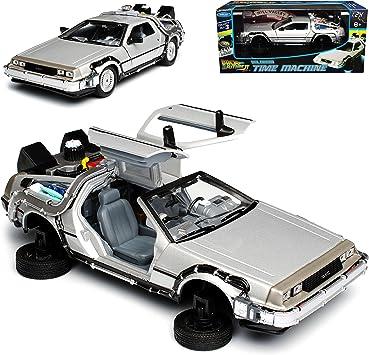 Welly De Lorean Zurück in die Zukunft Teil 2 Modellauto 1:24