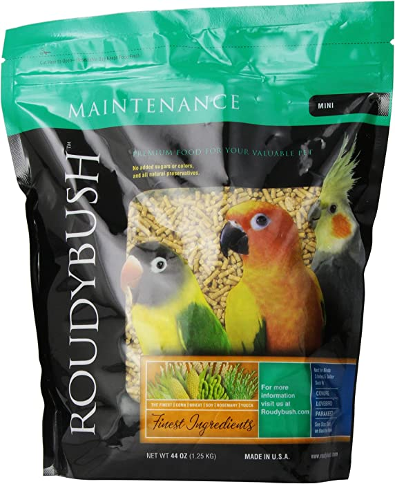 Top 7 Roudybush Parrot Food