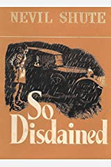So Disdained Kindle Edition