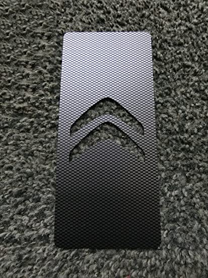 Tuning Plataforma poggiapiede acero inoxidable Impresi/ón UV Ultra Violetti 18/x 8/cm con kit Velcro incluida