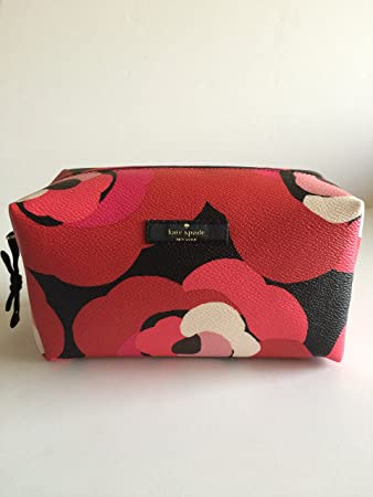 9897a79e0296 Amazon.com   Kate Spade Medium Davie Briightwater Drive Cosmetic Bag  Dcorsornrd WLRU2260   Beauty