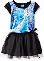 Disney Girls' Enchanted Elsa Penne Dress