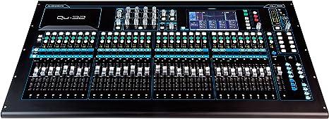 Allen-heath qu-32 chrome mesa de mezclas digital: Amazon.es ...