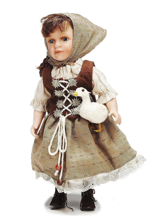 Sunny Toys 25016 - Muñeca de porcelana (aprox. 40 cm ...