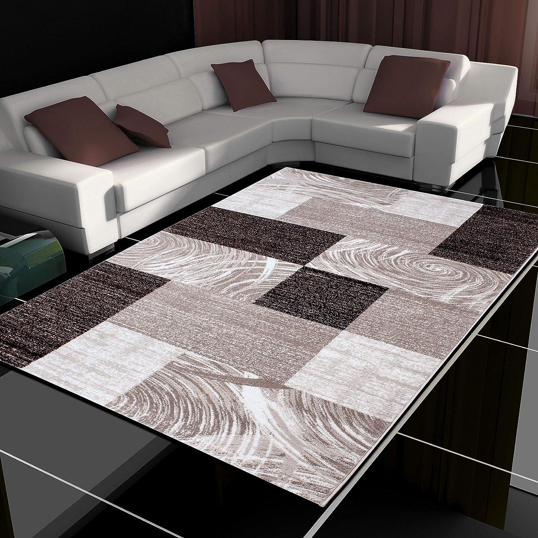 HomebyHome Alfombra Patchwork de diseño Moderno, salón de Pelo ...