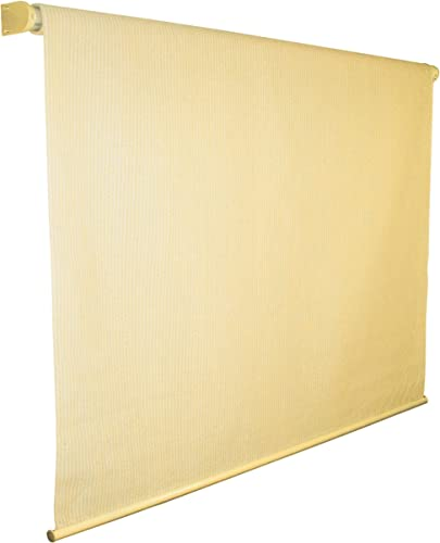Coolaroo Exterior Roller Shade, 6 by 6-Foot, Almond