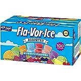 Fla-Vor-Ice Giant Popsicles Variety Pack of Jumbo Freezer Bars (1.5oz/100Count)