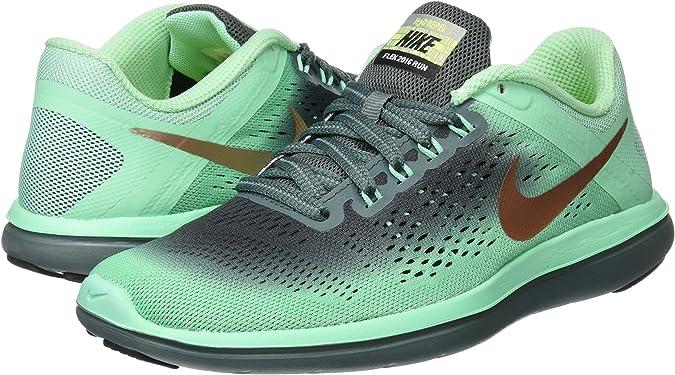 Nike Wmns Flex 2016 RN Shield, Zapatillas de Trail Running para Mujer, (Multicolor), 36.5 EU: Amazon.es: Zapatos y complementos