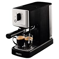 Krups Steam & Pump XP3440 - Cafetera espresso, 15 bar