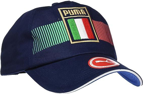 PUMA Italia Fan Cap Gorra, Unisex Adulto, Azul Power/Azul Oscuro ...