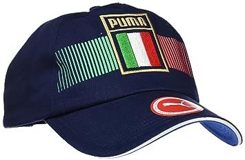 Puma Italia Fan Cap Gorra, Unisex Adulto, Power/Azul Oscuro, Talla única: Amazon.es: Deportes y aire libre