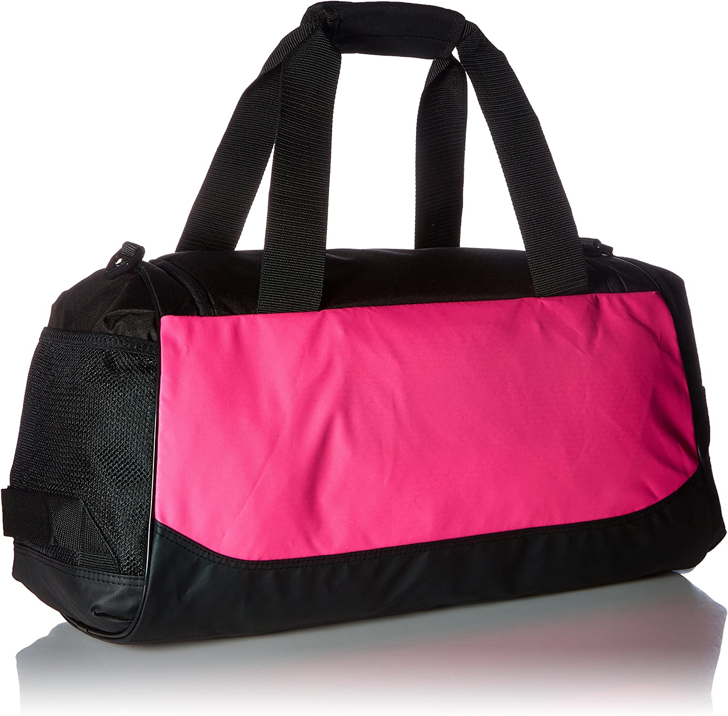 adidas Unisex Team Issue Small Duffel Bag, Shock Pink, ONE SIZE