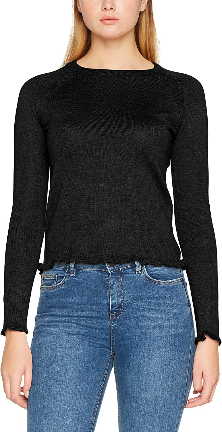 PIECES Pcnugga LS Knit, suéter para Mujer