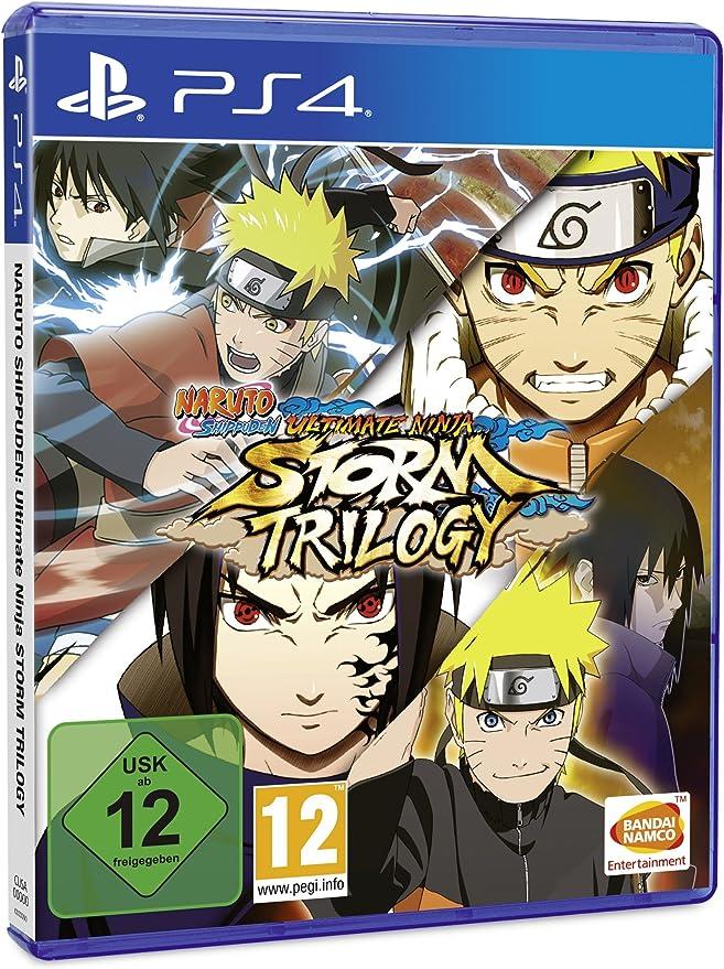 Naruto Shippuden: Ultimate Ninja Storm Trilogy - PlayStation 4 [Importación alemana]: Amazon.es: Videojuegos