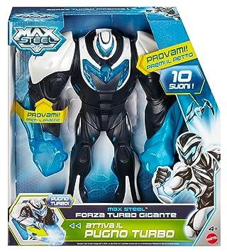 Max Steel Mattel BJK84 Forza Turbo Gigante - Robot
