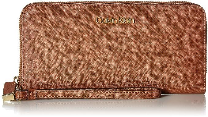 Amazon.com: Calvin Klein Key Item Saffiano - Cartera con ...
