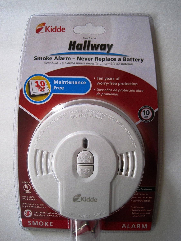 Kidde Sealed Lithium Battery Power Smoke Detector AlarmModel i9010