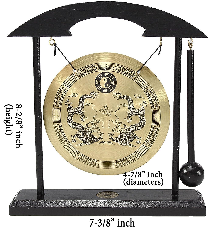 Amazon Zen Table Gong Dragon With Taiji Symbols Feng Shui