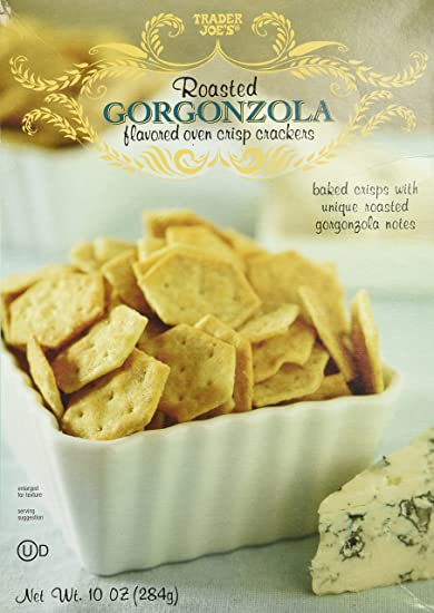 Image result for trader joe's blue cheese crackers