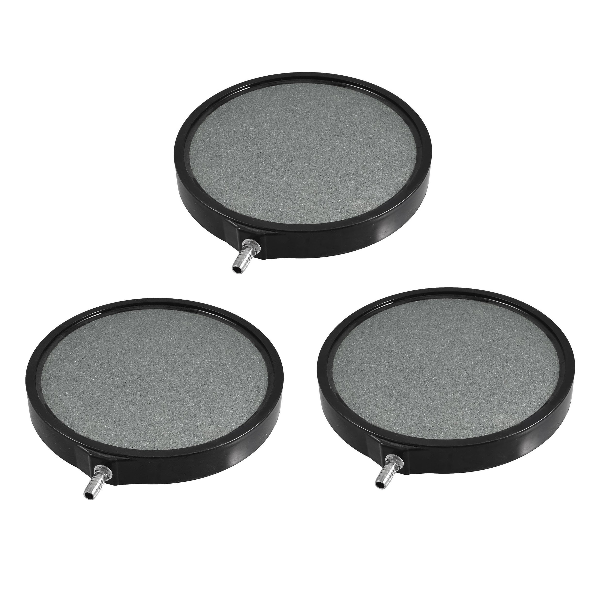 CNZ Bubble Disk Round Air Stone (8'', 3-Pack) by CNZ