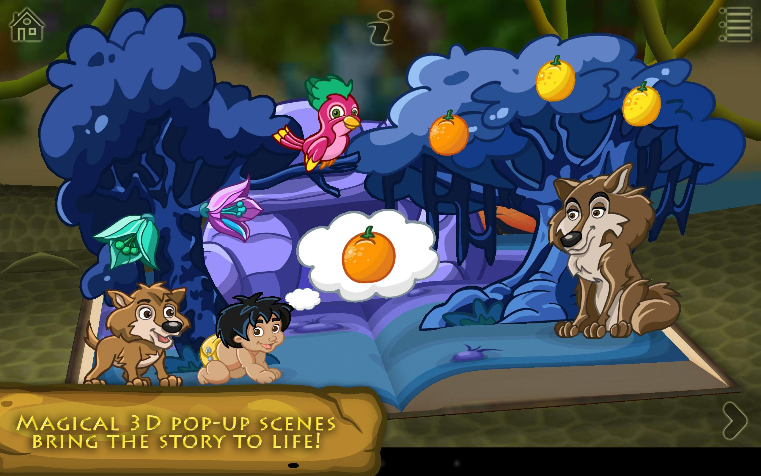 El libro de la selva ~ Libro Pop-Up interactivo en 3D
